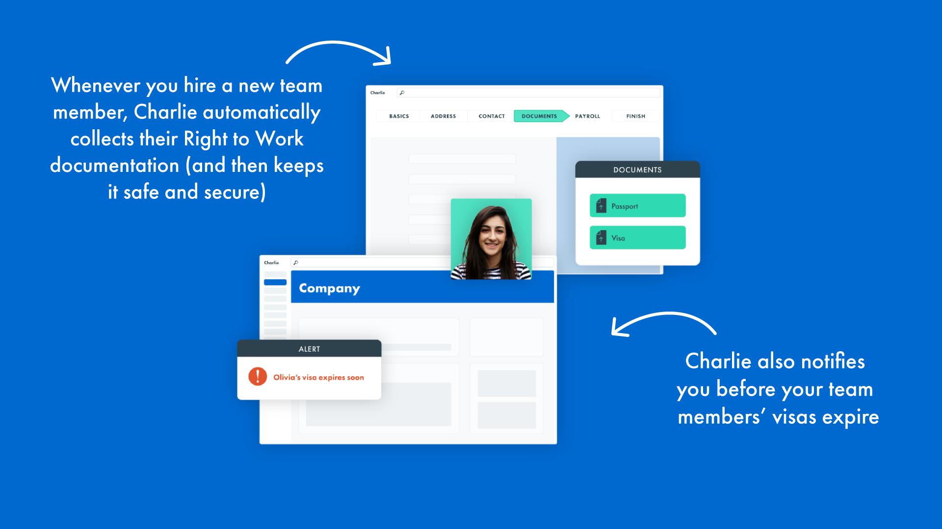 HR checklist for startups - documentation CharlieHR software